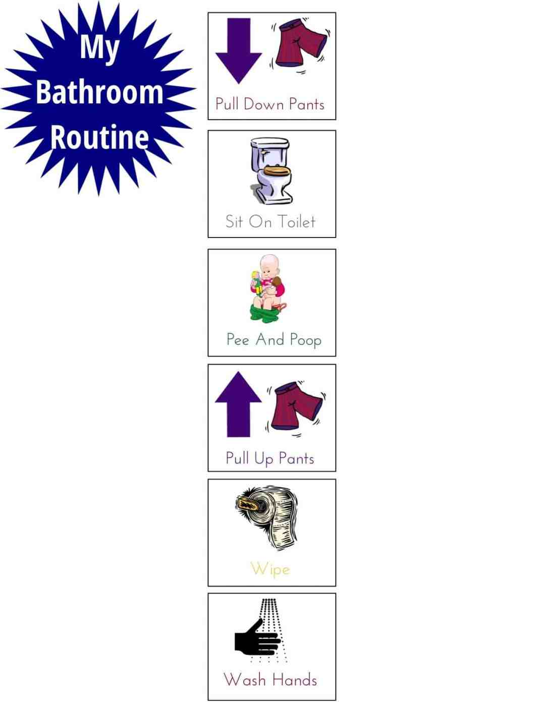 Getting The Kids Rooms Organized For Back To School - Bathroom Routine