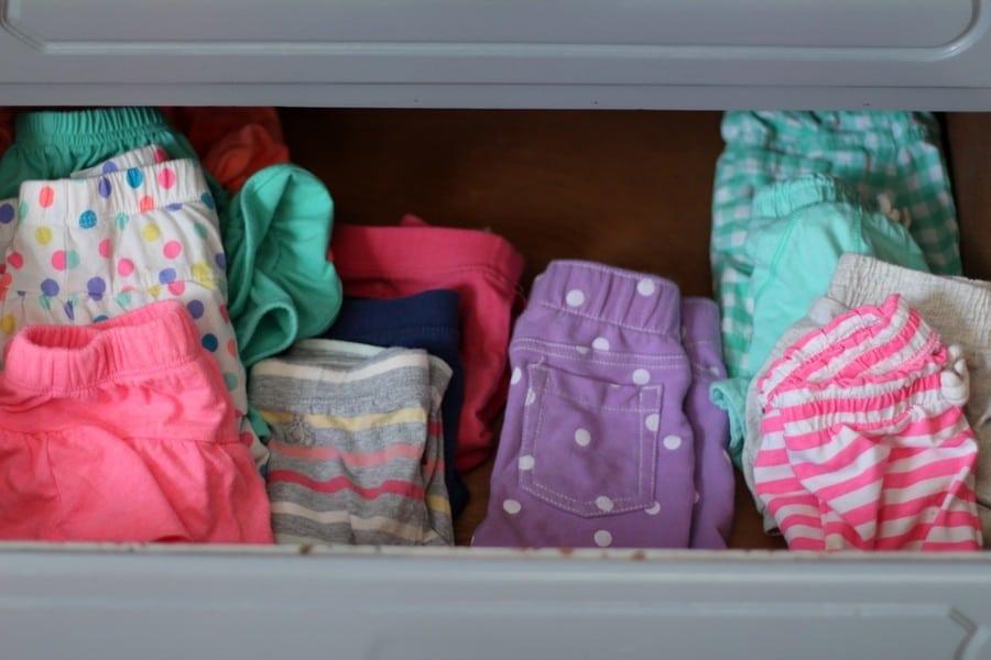 My Laundry Routine - Girls Drawers