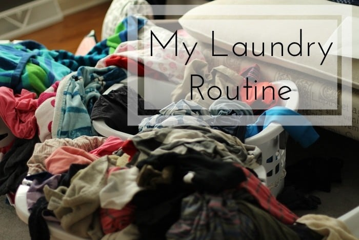 My Laundry Routine