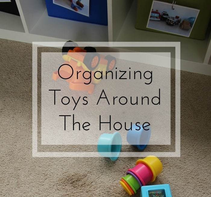 Back To School Challenge - Organizing Toys Around House