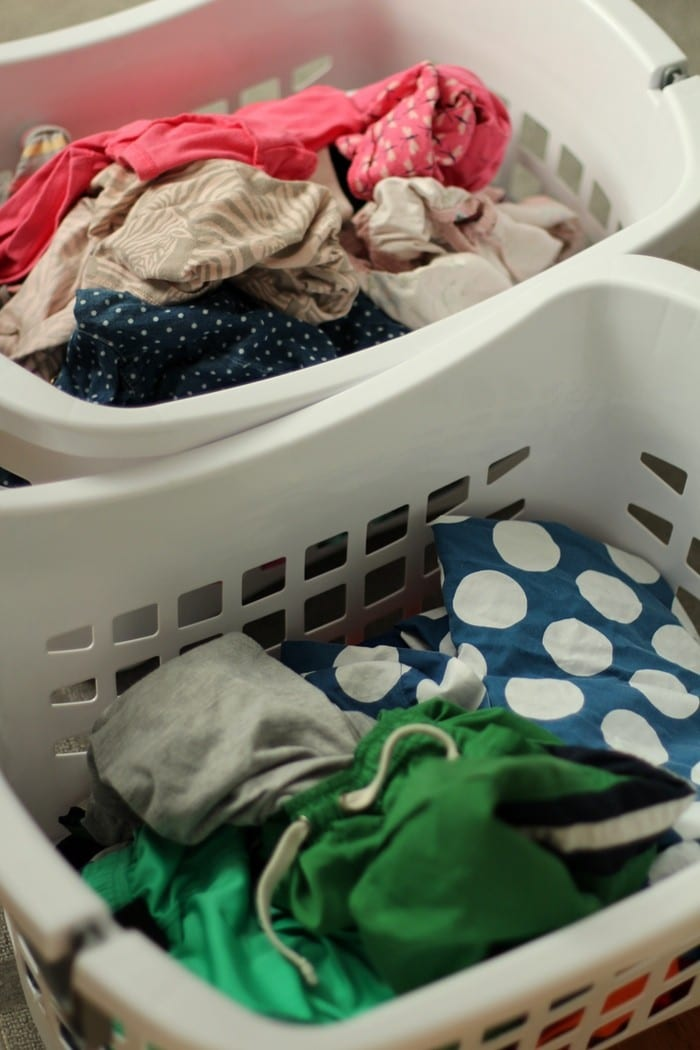 My Laundry Routine - Sorting Laundry