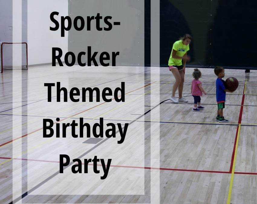 Sports-Rocker Themed Birthday Party