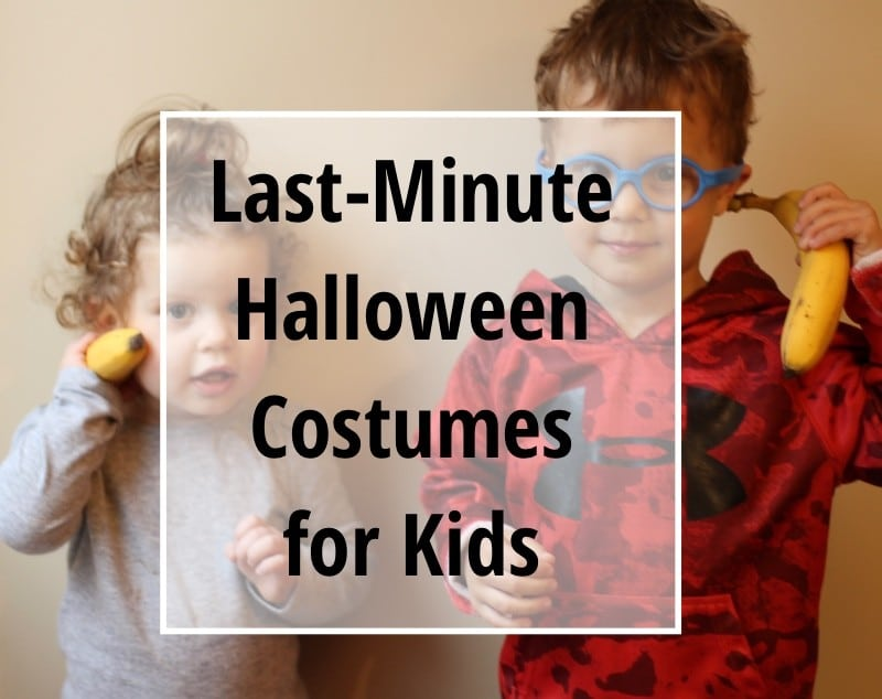 Last-Minute Halloween Costume Ideas