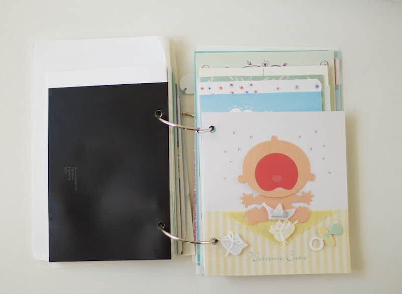 Cards Using Clips Books