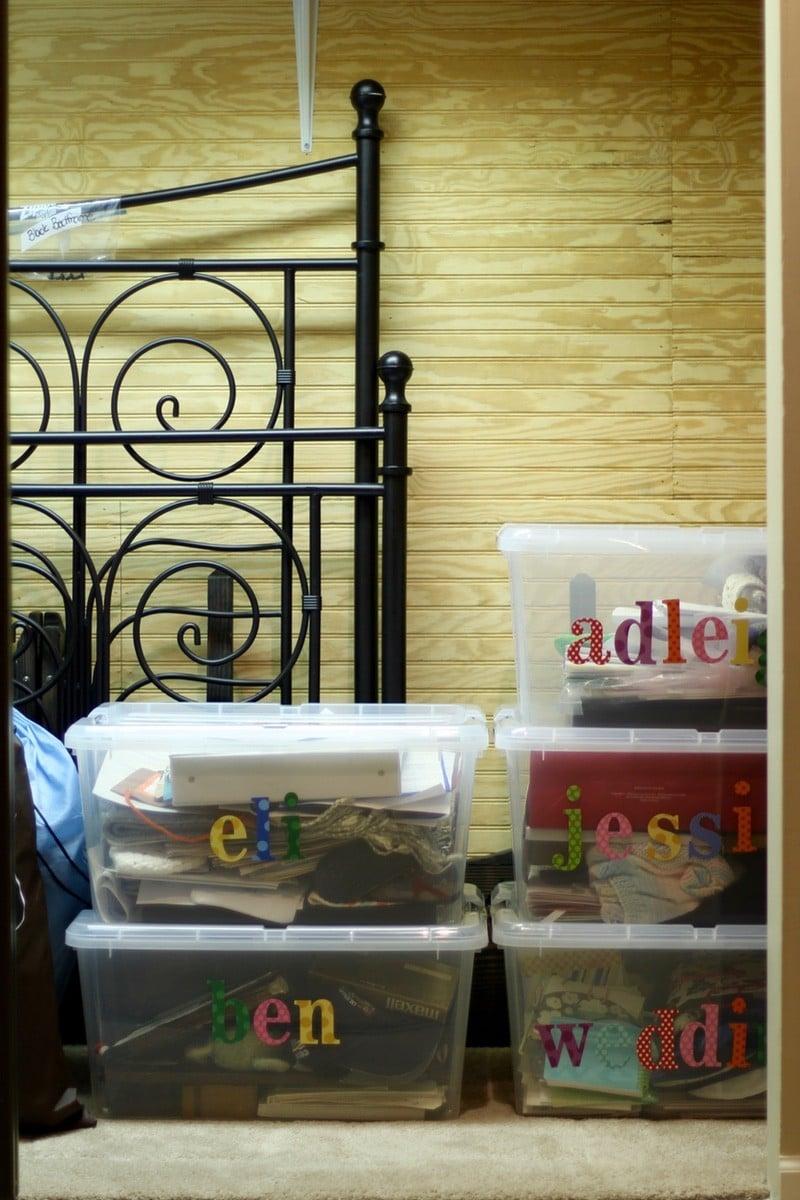 How To Organize A Storage Closet - Final Closet