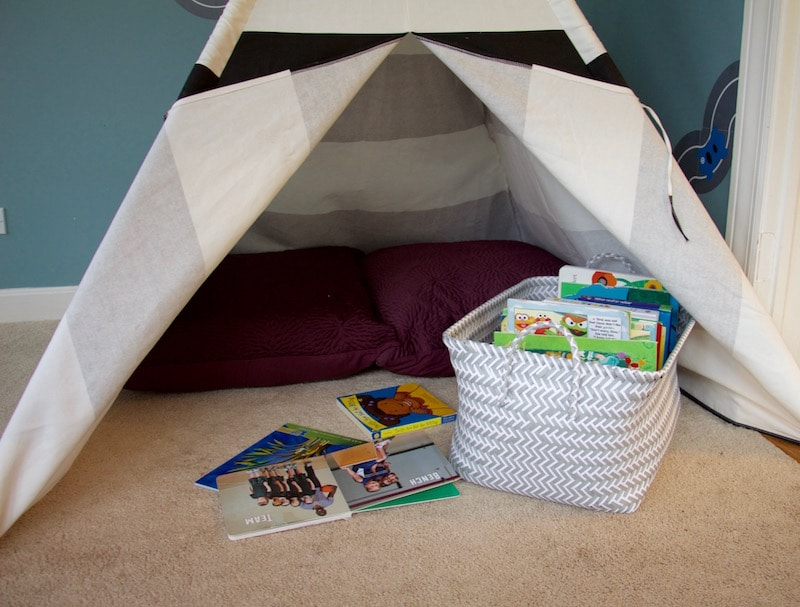 Teepee Play Room