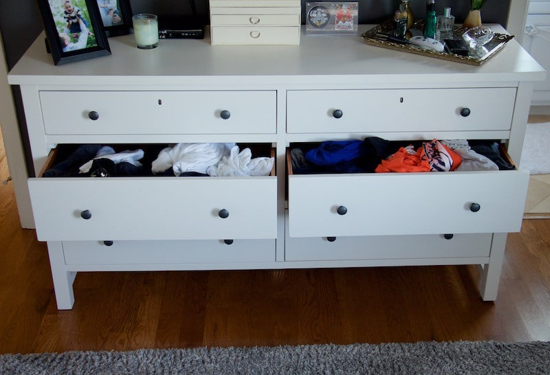Before Dresser Drawers