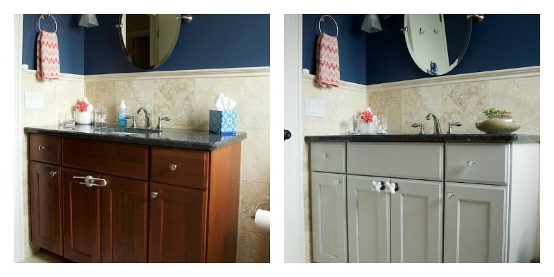 Before and After Kids Bathroom