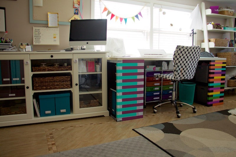 Desk and Craft Table