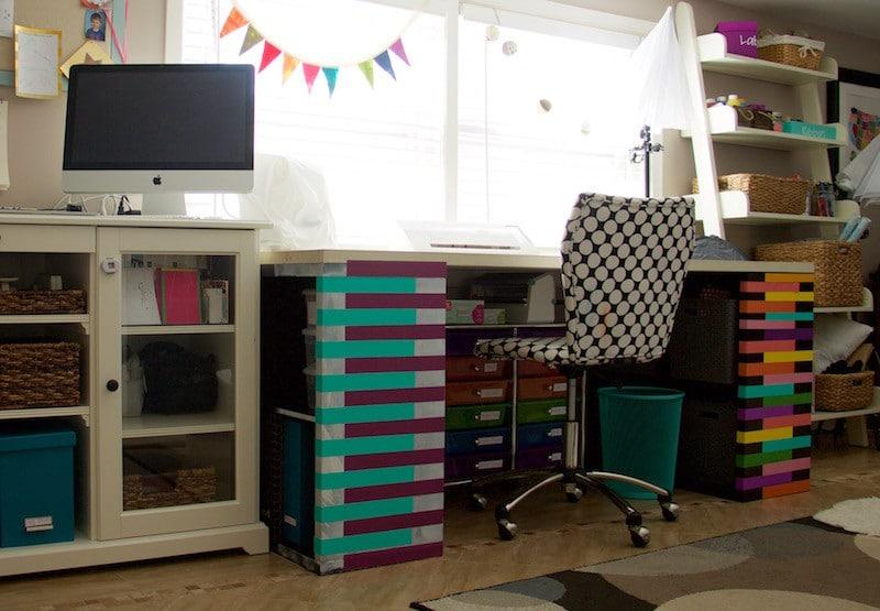 Finished Craft Desk