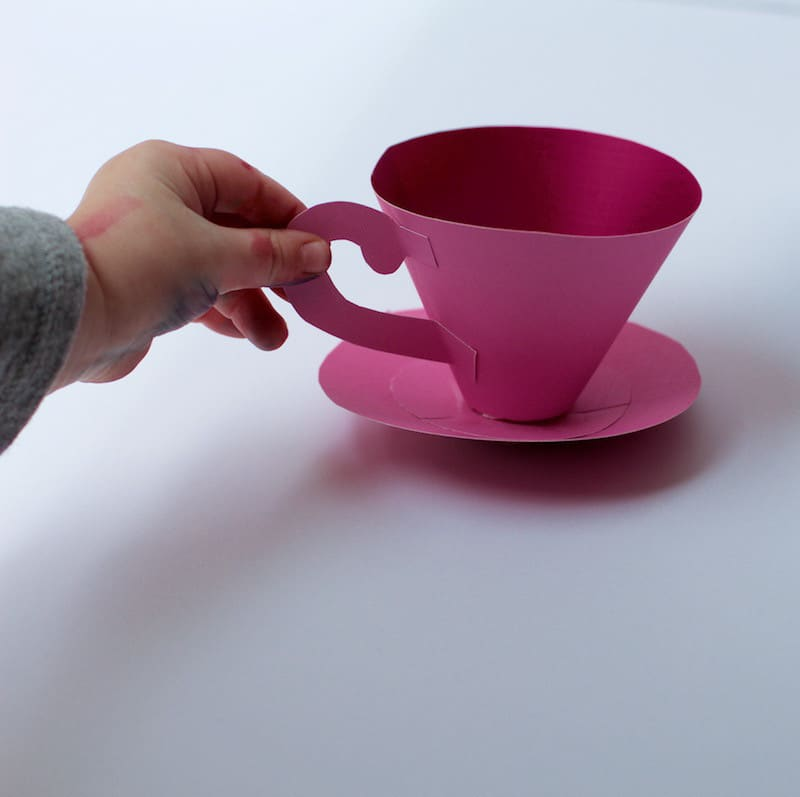 Hand and Tea Cup