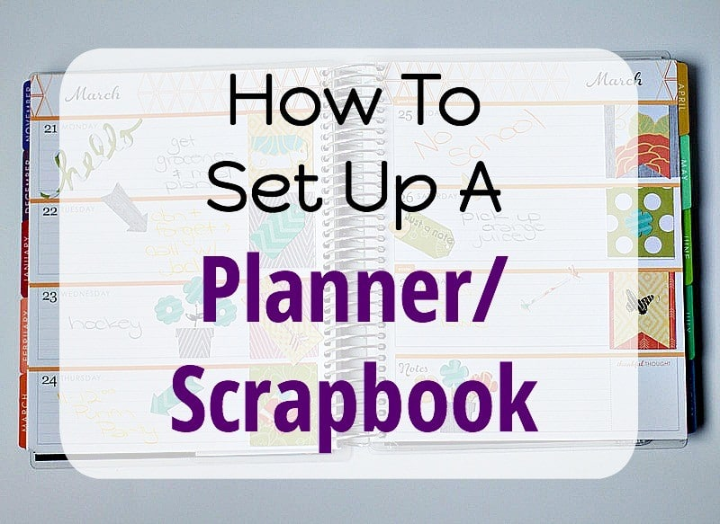 How To Set Up Planner