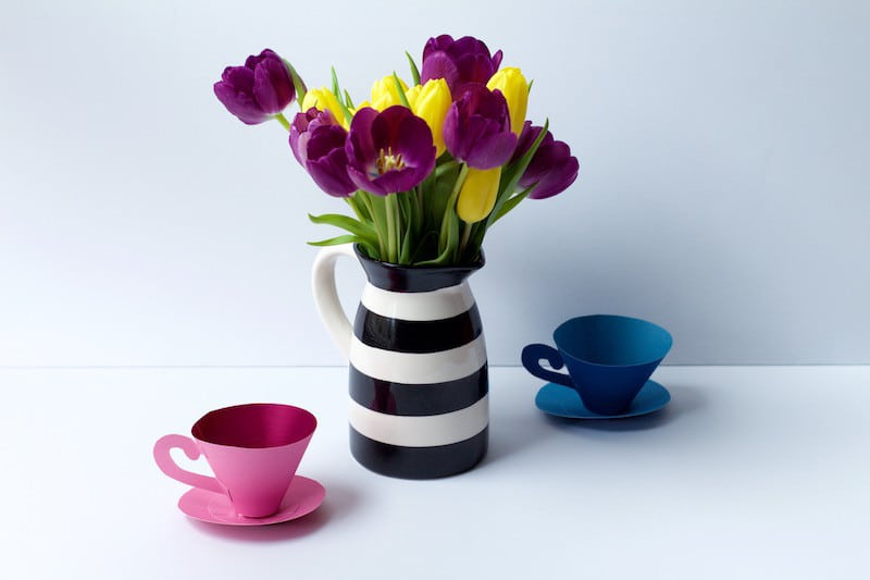 """Tea Cup Tutorial On """"Tea For Two Tuesday"""""""