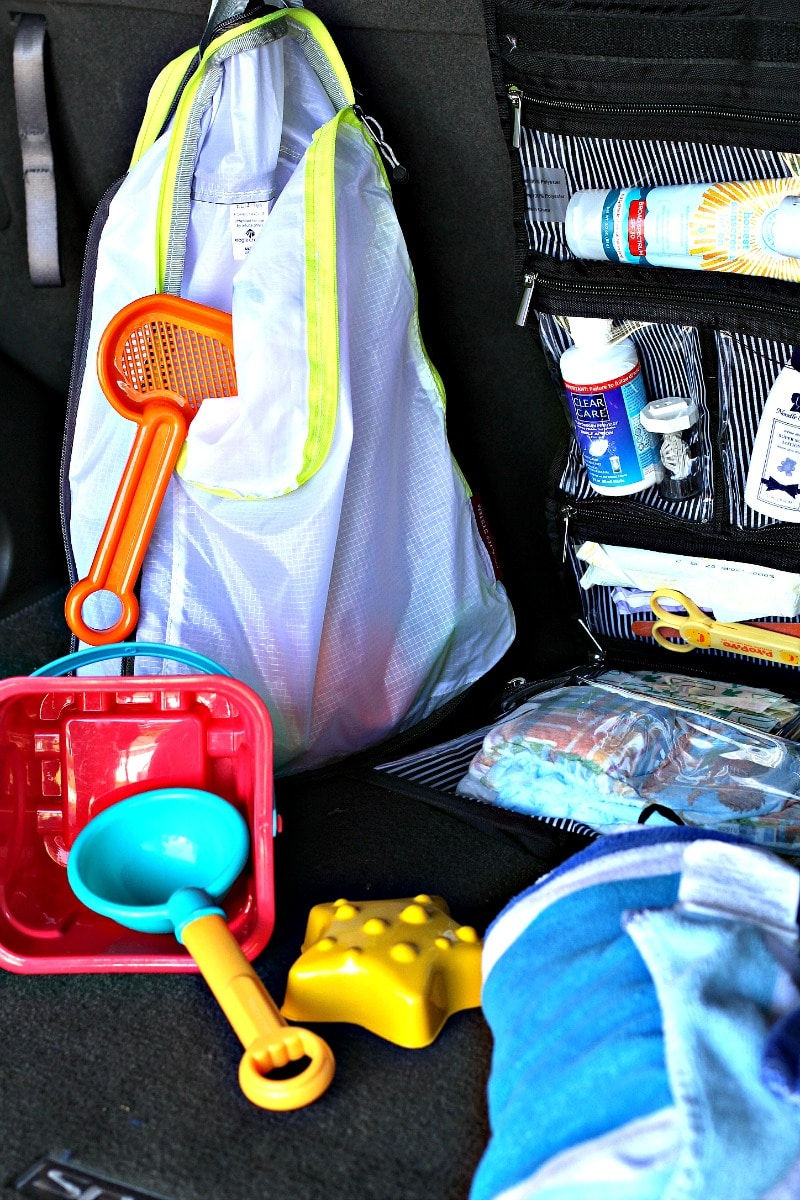 Car Organization With Supplies