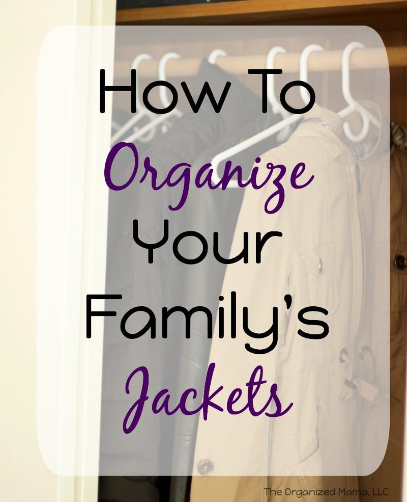 How To Organize Your Family's Jackets