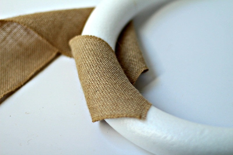 Wrapping Burlap