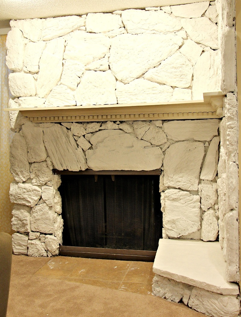 During Fireplace