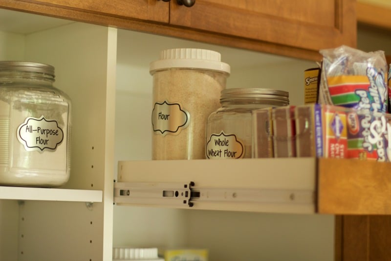 Labels In Pantry