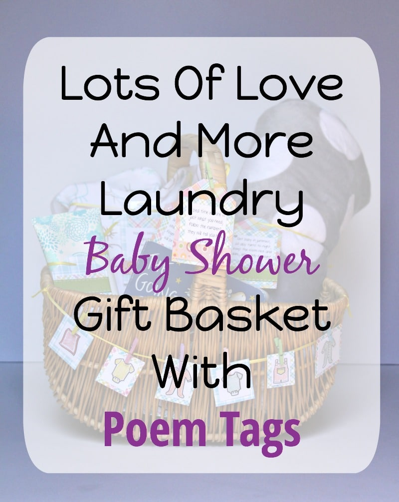 Lots Of Love And Laundry Gift Basket