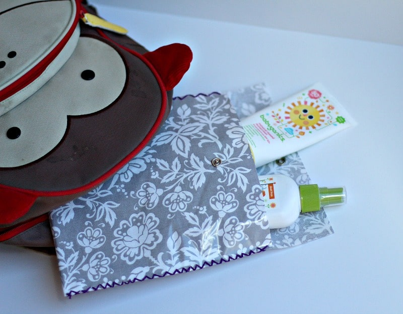 Laminated Fabric Snap Pouches Tutorial