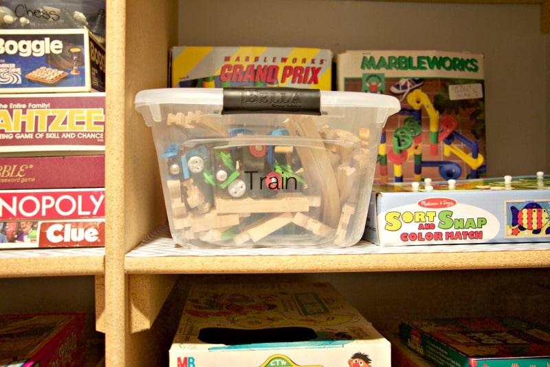 Organizing A Game Closet On A Budget