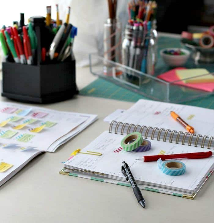 Using planners to get organized