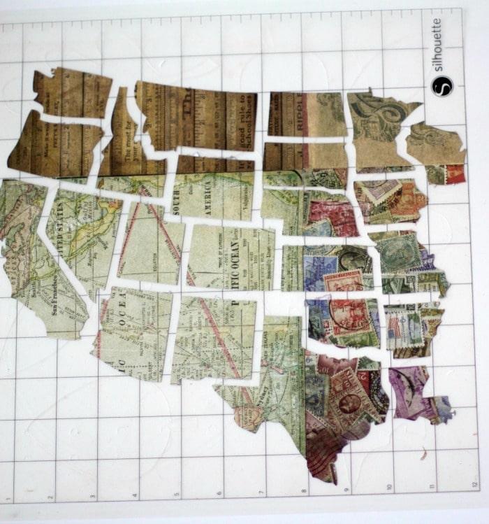 map-on-silhouette-cut-mat