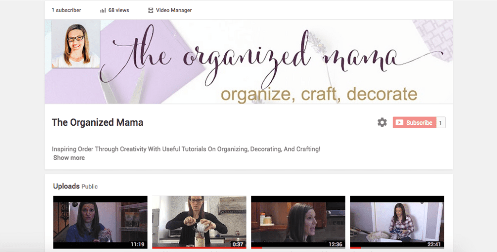 The Organized Mama TV
