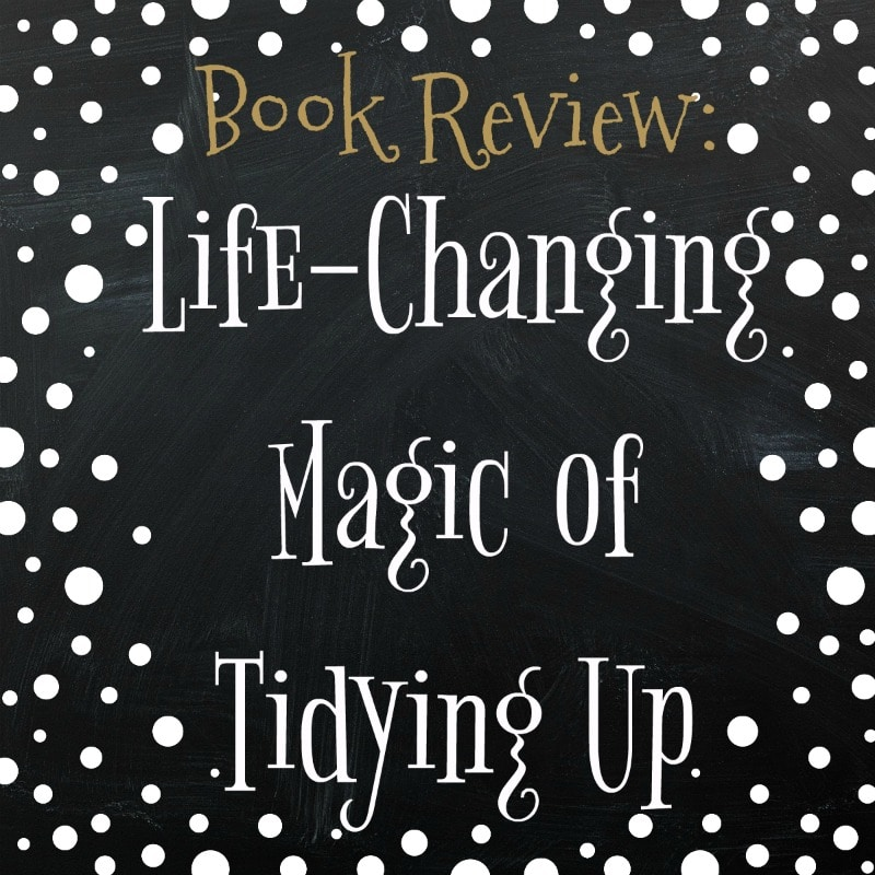 book review life changing magic of tidying up