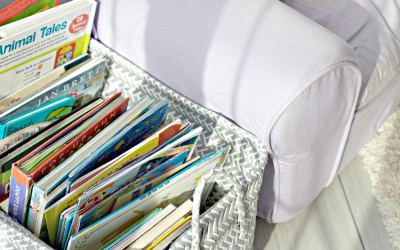 How To Store Kids Books and Stay Organized