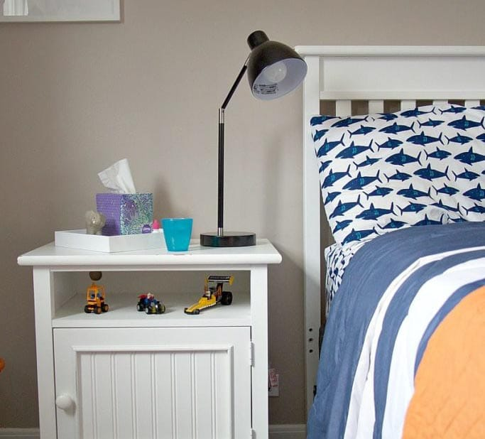 DIY: Organizing A Preschool Boy Bedroom
