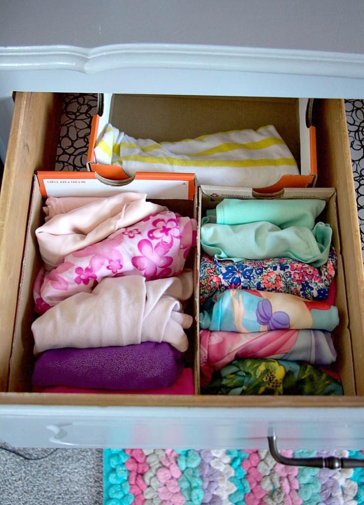 Seasonal Clothes Drawer Storage