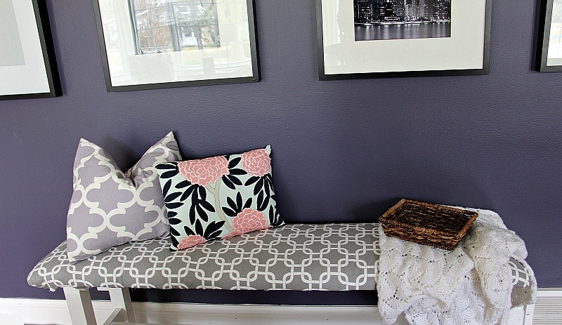 The Best Way To DIY Upholster Benches