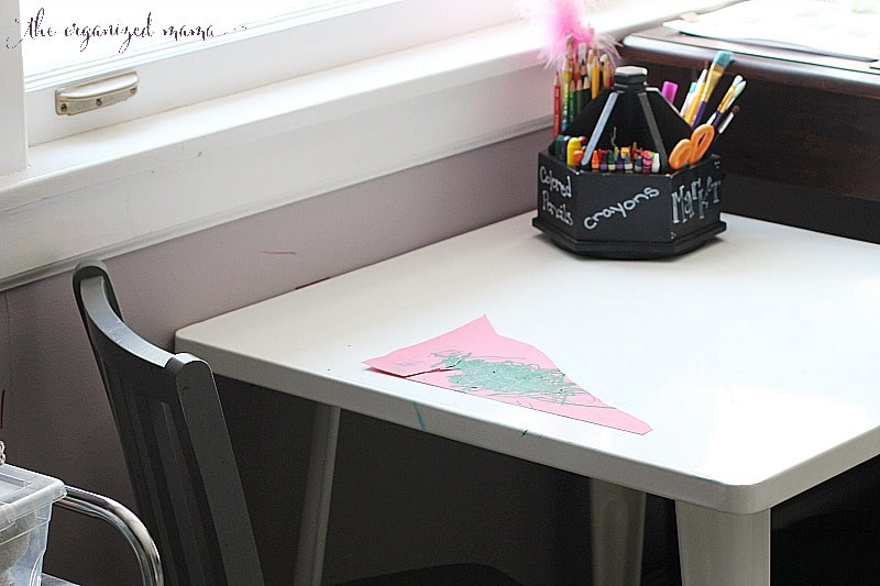 Kids Desk Art Supplies