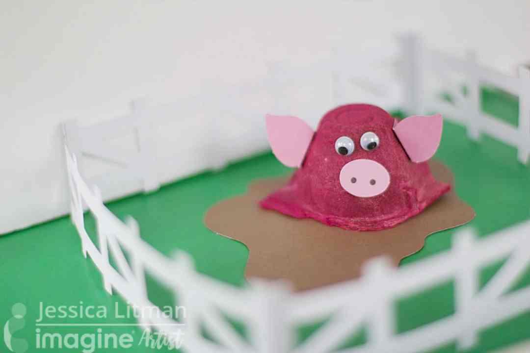 egg carton kid craft