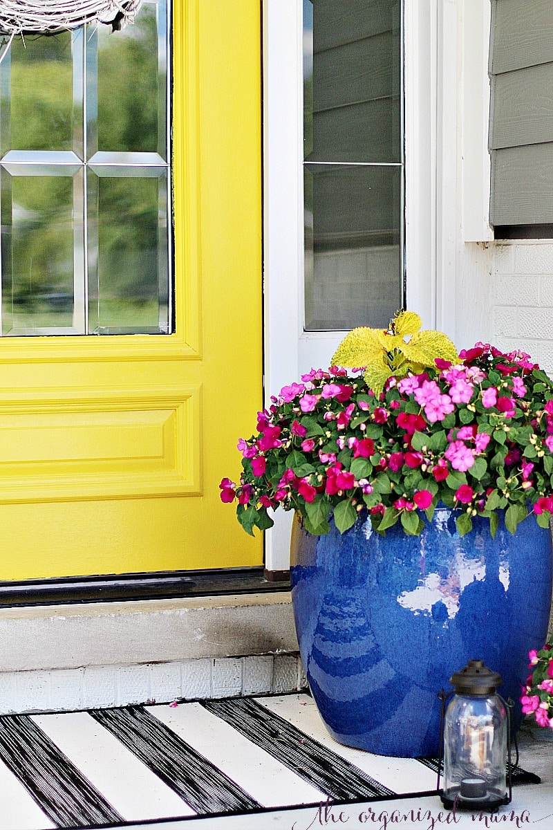 planter patio decorating ideas for summer