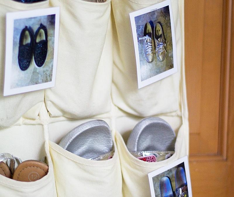 How To Organize Shoes In A Hanging Shoe Organizer