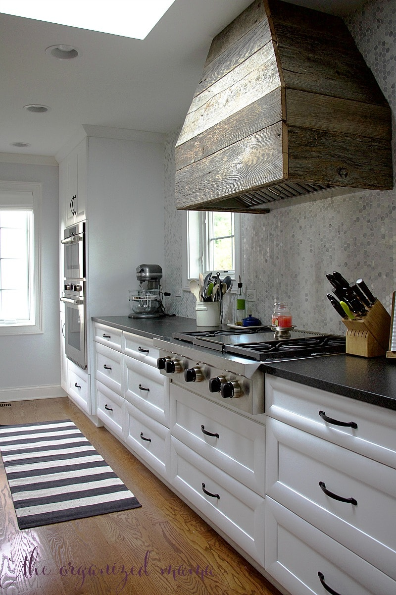 white kitchen inspiration wall of drawers