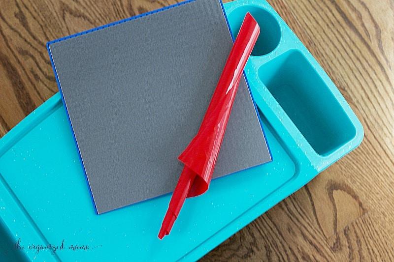 DIY Lego-Compatible Table Peel N' Stick Creative QT