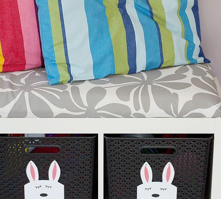 Bunny Play Room Label Tutorial