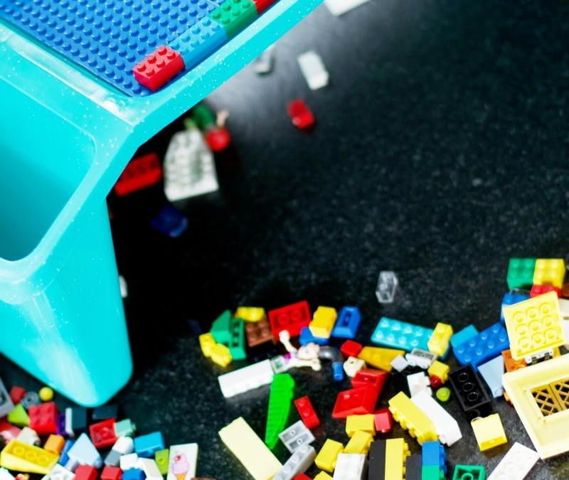 how to make a DIY Lego-Compatible Table