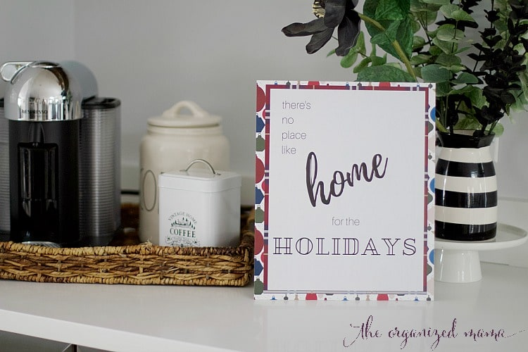 The Easiest Decorative Christmas Quote Art Tutorial