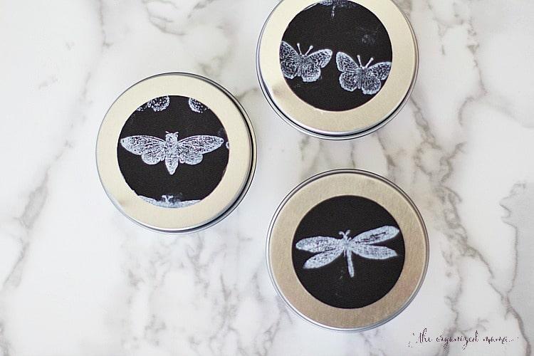 How To Make A Preschool Bug Craft Collection Tin