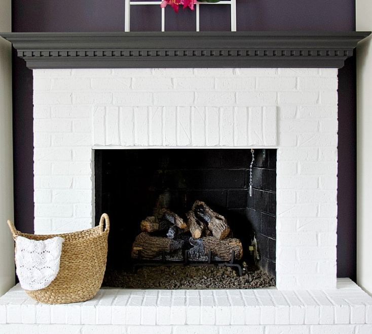 Groovy The Best Way To Create White Brick Fireplaces The Interior Design Ideas Inesswwsoteloinfo