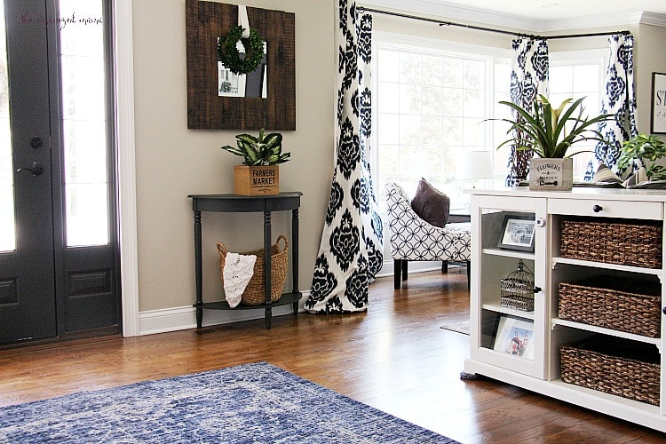 Modern Farmhouse Living Room Reveal One Room Challenge The Organized Mama