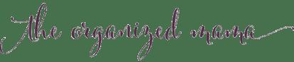 The Organized Mama logo