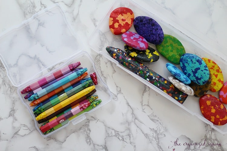 organizing art supplies is easy with Iris brand containers!