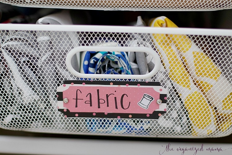 How To Keep An Organized Craft Room