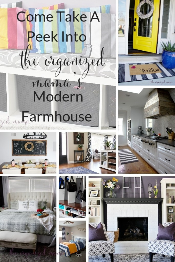 Modern Farmhouse Tour of The Organized Mama's Chicago Home