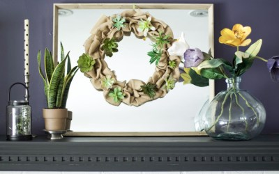 How To Create A Dollar Tree Flowers Spring Wreath